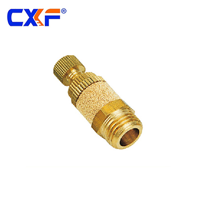 PSB Series Brass Flow Control Pneumatic Silencers