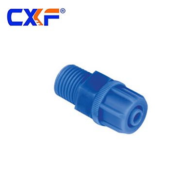BMC Series Male Straight Plastic Fitting