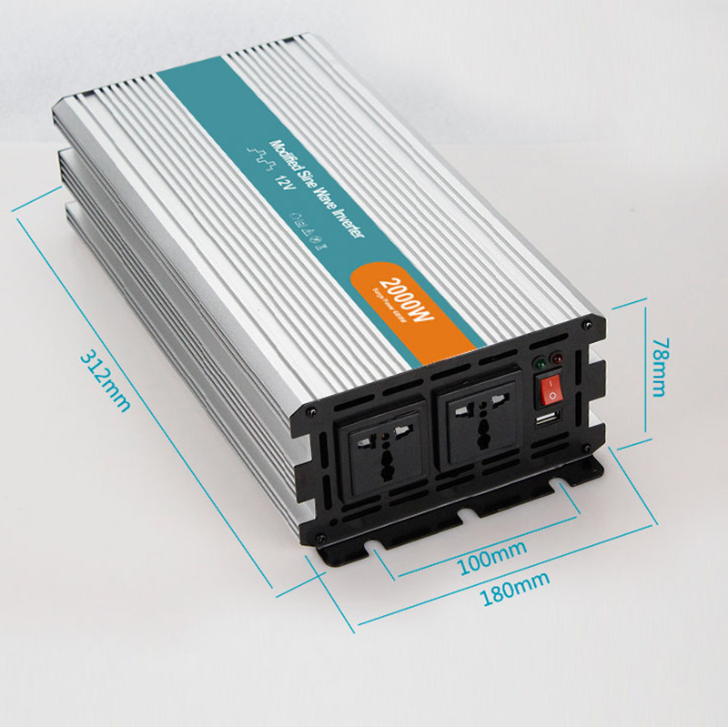 2000W Power Inverter Modified Sine Wave