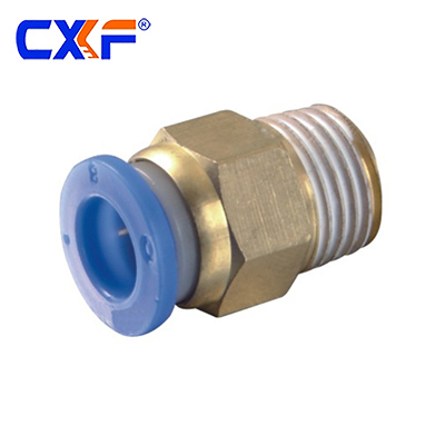 PC Series Male Straight Quick Wring Connector