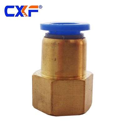 PCF Series Pneumatic Female Copper Fitting