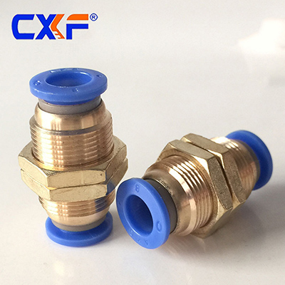SPM Series Brass Bulkhead Fittings