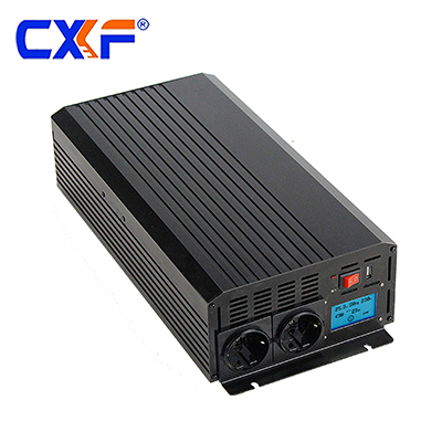 1500W power inverter with smart LCD display
